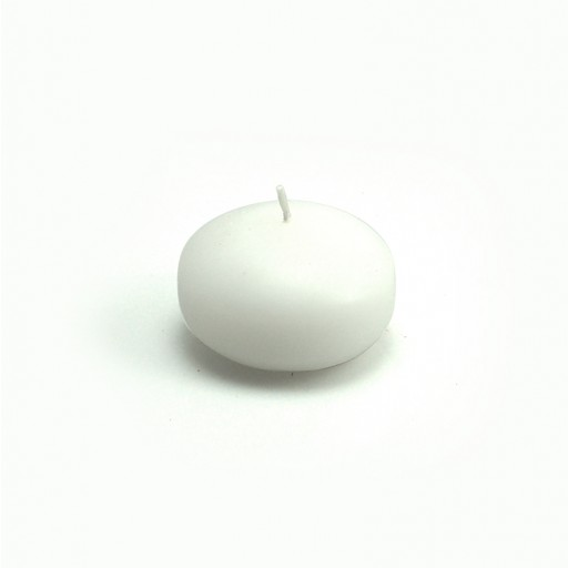 """1 3/4"""" White Floating Candles (24pc/Box)"""