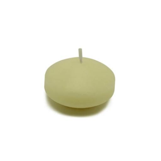 "1 3/4"" Ivory Floating Candles (24pc/Box)"