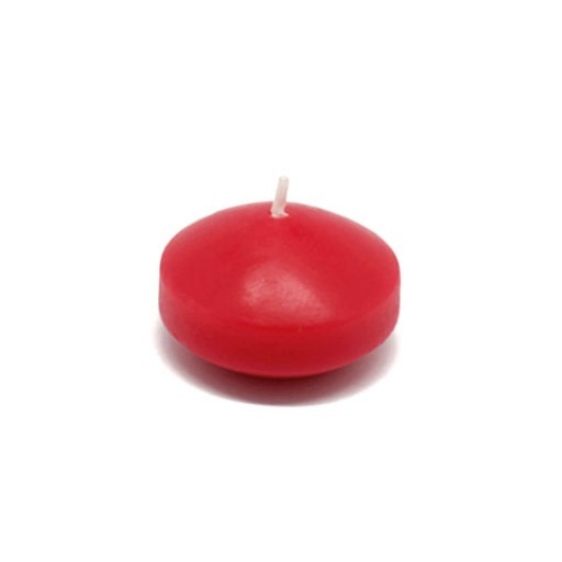 "1 3/4"" Red Floating Candles (24pc/Box)"