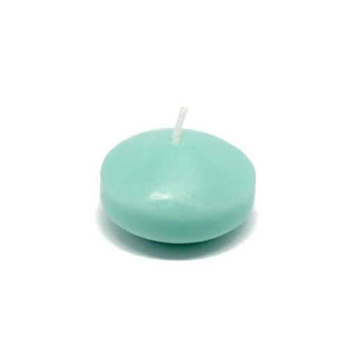 """1 3/4"""" Aqua Floating Candles (24pc/Box)"""