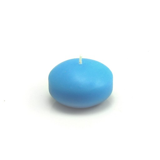 1 3/4 Inch Light Blue Floating Candles (24pc/Box)