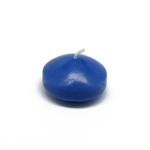 1 3/4 Inch Blue Floating Candles (24pc/Box)