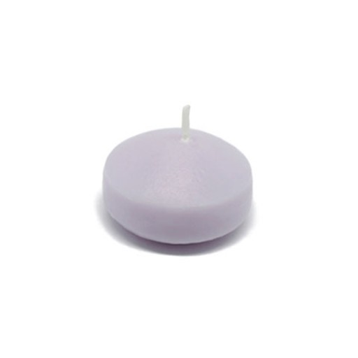 1 3/4 Inch Lavender Floating Candles (24pc/Box)