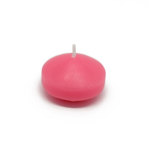 "1 3/4"" Hot Pink Floating Candles (24pc/Box)"