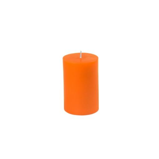 "2 x 3"" Orange Pillar Candle"