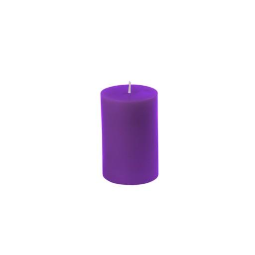 "2 x 3"" Purple Pillar Candle"
