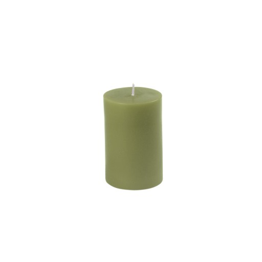"2 x 3"" Sage Green Pillar Candle"