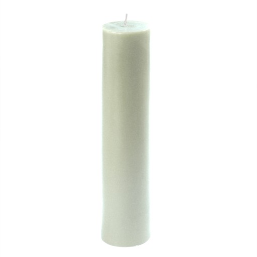 2 x 9 Inch White Pillar Candle