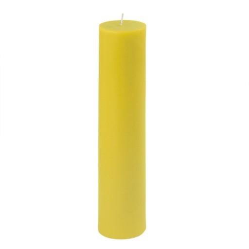 "2 x 9"" Yellow Pillar Candle"