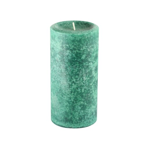 "3"" x 6"" Fresh Frasier Fir Green Scented Pillar Candle"