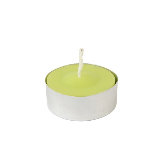 Lime Green Citronella Tealight Candles (100pcs/Box)