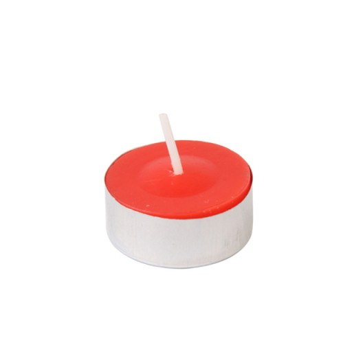 Red Citronella Tealight Candles (100pcs/Box)