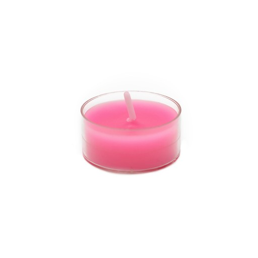 Hot Pink Tealight Candles (50pcs/Pack)