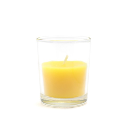 Citronella Round Glass Votive Candles (12pc/Box)