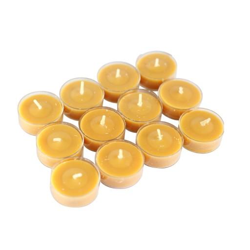 12pk Pumpkin Spice OrangeTeaLight Candles