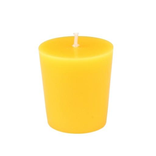 Yellow Citronella Votive Candles (12pc/Box)