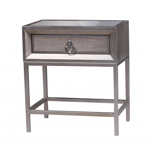 wooden 1 drawer cabinet