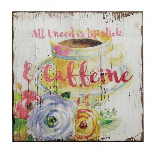 "15.75"" x 15.75"" Inspirational Wall Plaque"
