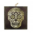 Halloween DOD Black/White Skull Canvas