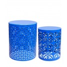 S/2 PLANT STAND ROYAL BLUE