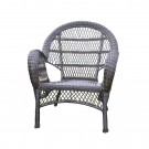 Santa Maria Espresso Wicker Chair