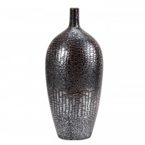 Crocodile Patterned Ceramic Vase