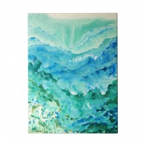 """36"""" x 48"""" Forested Mountains Canvas Art"""