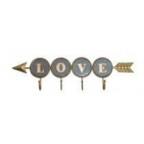 Decorative Arrow with Love Sign