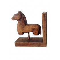 Antique Brown Horse Back End Right
