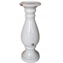 "13"" Large Ceramic Candle Holder"
