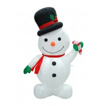 "4"" INFLATABLE SNOWMAN"