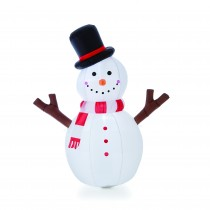 4' Inflatable Tree Hand Snowman