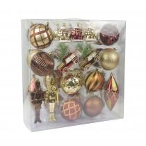 36 Pcs Mix Christmas Ornament