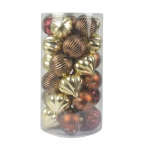 Combo 30Pc Christmas Ornament-Mix Color