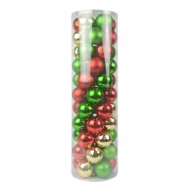 Combo 55Pc Christmas Ornament-Mix Color