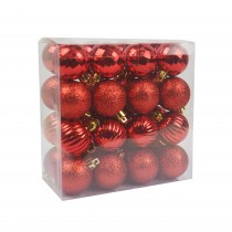 """Red 32pc 1.5"""" Christmas Ornament"""