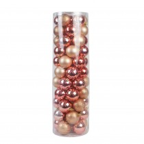 Combo 55Pc Christmas Ornament-Brown