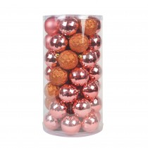 48Pk Christmas Ornament-Brown