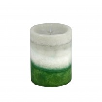 3 x 4 Inch Lyr Holiday Fores Scented Pillar Candle