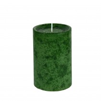 4 x 6 Inch Inch Sld Holiday Fores Scented Pillar Candle