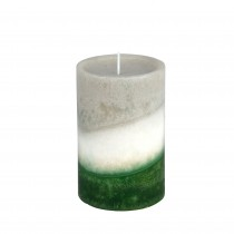 4 x 6 Inch Lyr Holiday Fores Scented Pillar Candle