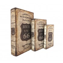 Route 66 Book Box (Set of 3)