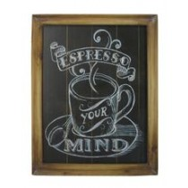 Coffee Themed Wall Art (Espresso your Mind)