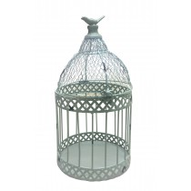 "Louvil 14.6"" Metal Bird Cage"
