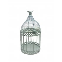 "Louvil 10.6"" Metal Bird Cage"