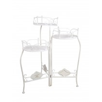 Broyes 3-Tiered Metal Plant Stand