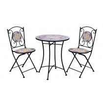 3Pcs mosaic bistro set