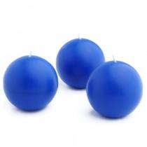 3 Inch Ball Candles (6pc/Box)