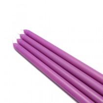 "10"" Purple Taper Candles (1 Dozen)"