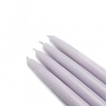 "6"" Lavender Taper Candles (1 Dozen)"